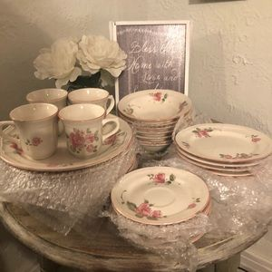 Gibson roseland dishes